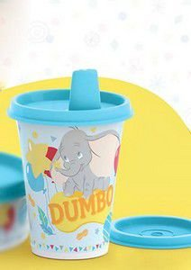 Tupperware Copinho com Bico Baby Dumbo 200 ml