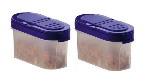 Tupperware Conjunto com Dois Portas Temperos Pequeno 100 ml