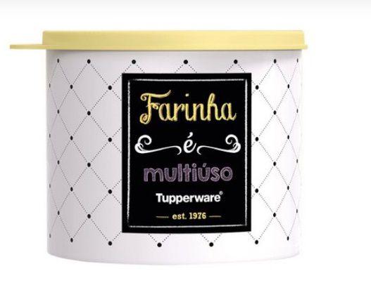 Tupperware Tupper Redondinha Bistrô Farinha 500 ml