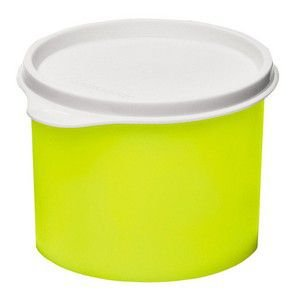 Tupperware Tupper Redondinha 500 ml Amarelo Neon