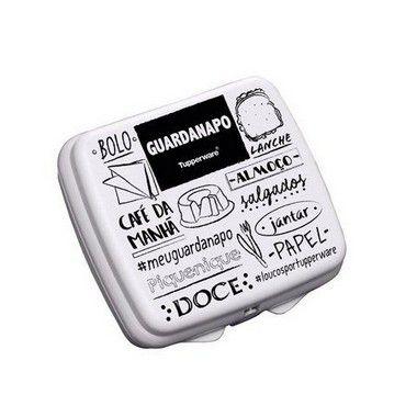 Tupperware Porta Guardanapo Quadrado PB