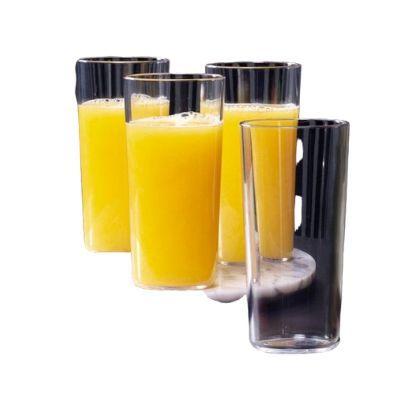 Tupperware Conjunto com 4 Copos Clear 400 ml