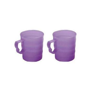 Tupperware Conjunto com 2 Canecas Murano Lilás 350 ml