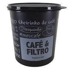 Tupperware Pote PB Tupper Caixa de Café com Filtro 700g
