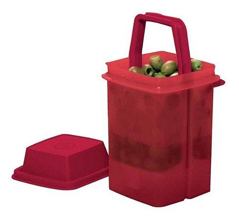 Tupperware Serve e Conserva Vermelho 1,2 Litros