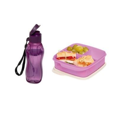 Tupperware kit com Basic Line e Eco Tupper 310 ml
