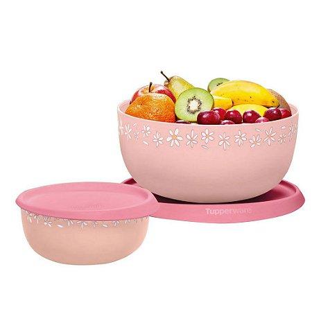 Tupperware Kit Toque Mágico Margaridas