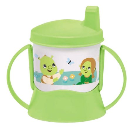 Tupperware Copinho com Bico e Alça Baby Shrek 150ml