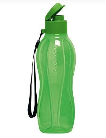 Tupperware Garrafa Eco Tupper Plus Verde 500ml