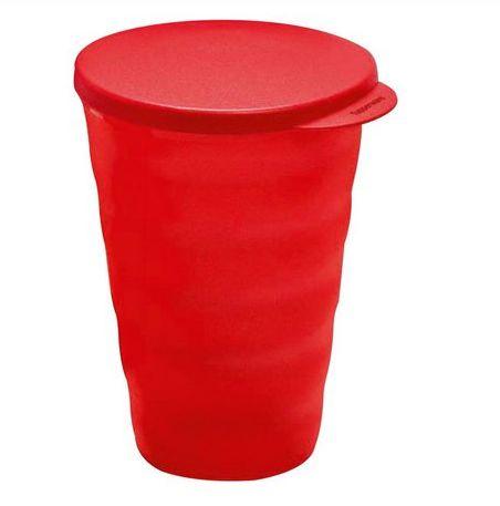 Tupperware Copo Murano Vermelho  500ml