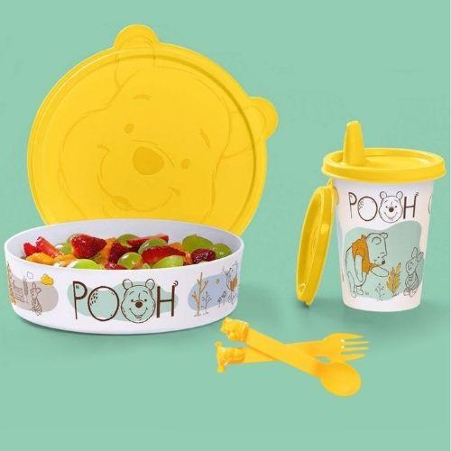 Tupperware Kit 3 peças Ursinho Pooh