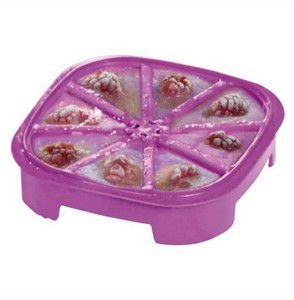 Tupperware Forma de Gelo Triangular Roxo