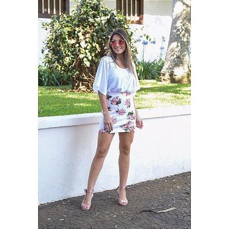 cdd86911a conjunto de Saia e Blusa Rosa - Nina Pimenta- Vestidos Longos e ...