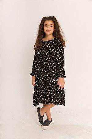 Vestido Helena Infantil Floral Liberty
