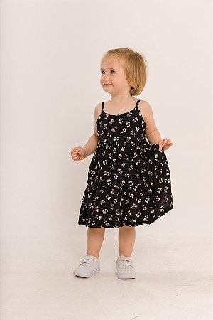 Vestido Ramona Infantil Floral Liberty