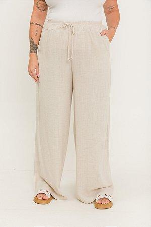 Calça Pantalona Natural