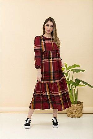 Vestido Helena Xadrez