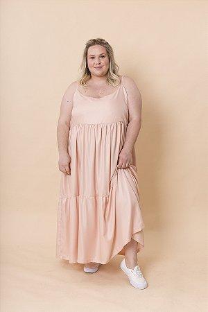 Vestido Ramona Alças Maxi Rosé
