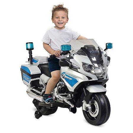 Mini Moto Eletrica Bmw R 1200 Rt Policia 12 Volts