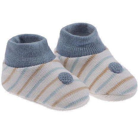 Meia Sapatinho para Bebês Recém Nascidos. Meninos