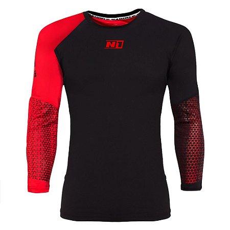 Camisa de Goleiro N1 Vermelha e Preta