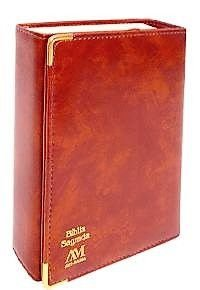 BÍBLIA CAPANGA MÉDIA. COR CARAMELO