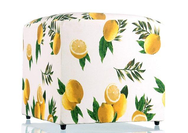 Puff Limões - 52x52 cm