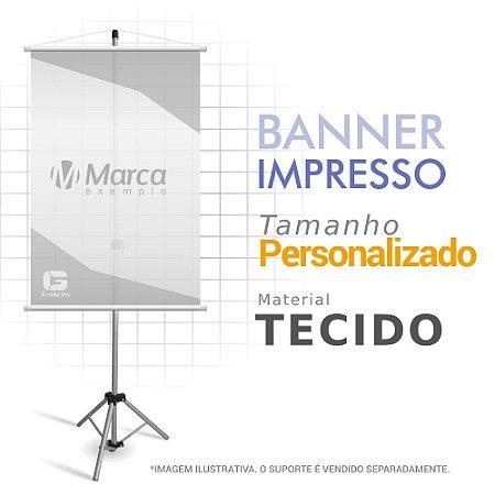 Banner Impresso Em Tecido