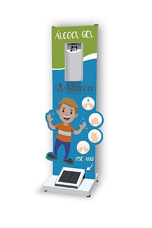 Totem Display para Álcool em Gel Infantil