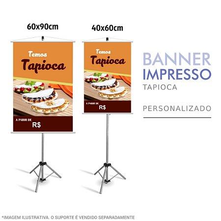 Banner Impresso de Tapioca