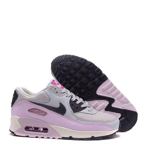 new style 0ea29 00654 ... coupon code for tênis nike air max 90 feminino cinza rosa 18641 31e72