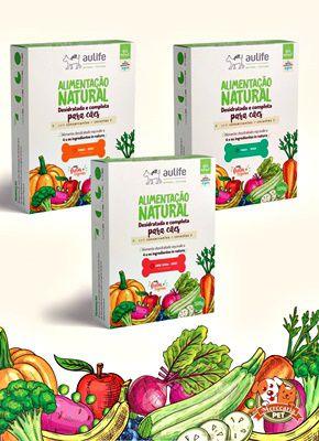 Alimento natural desidratado AN - 500g