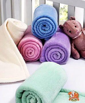 Manta / Cobertor para cachorro - 90x110cm