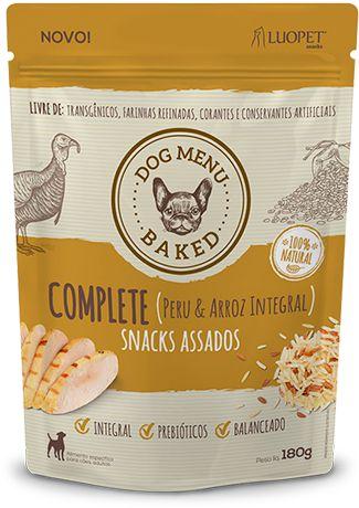 Biscoito assado 100% natural - 250g
