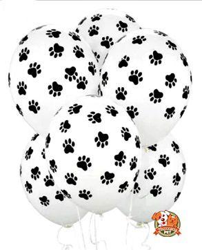 Balão patinhas - 3un