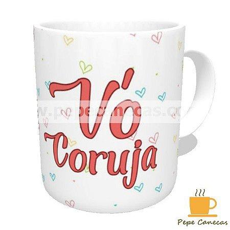 472593188 Caneca de Cerâmica Vovó Coruja 02 - Pepe Canecas - Canecas ...