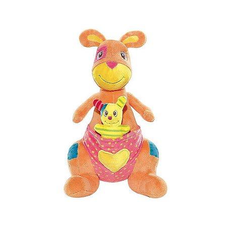 Pelúcia para Bebês 28 cm Canguru Buba - Doll   Ball d46c43defa2e0