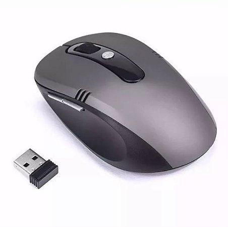 MOUSE ÓPTICO SEM FIO USB WI-FI 2.4 GHZ