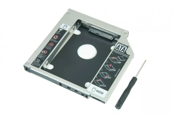 ADAPTADOR CADDY 9,5 MM  PARA HD OU SSD