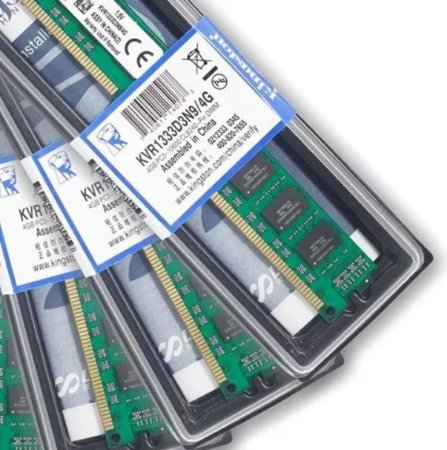 MEMÓRIA KINGSTON DDR3 4GB 1333 MHZ