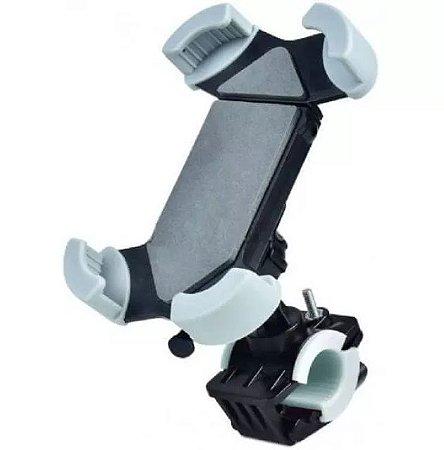 SUPORTE VEICULAR CELULAR GPS MOTO BICICLETA 4 GARRAS - SP-C86
