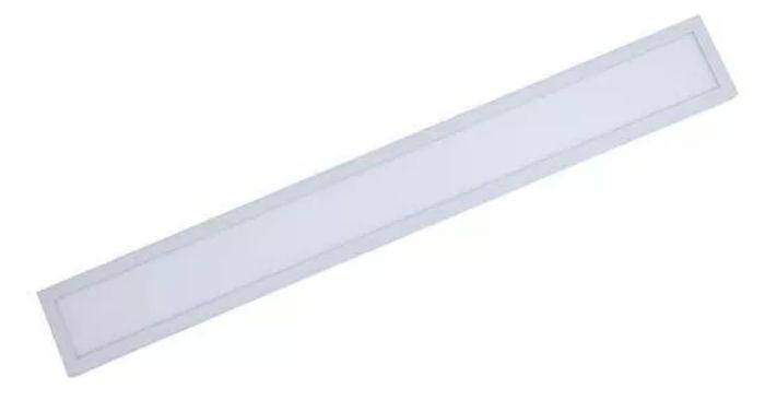 PLAFON LUMINÁRIA LED RETANGULAR EMBUTIR 120X15 40W