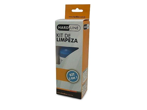KIT LIMPEZA TELAS MONITORES TV CELULAR NOTEBOOK TABLET KCL1014