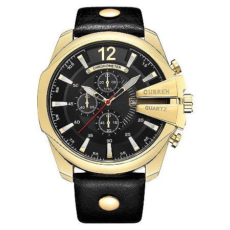 Relógio Dourado Curren