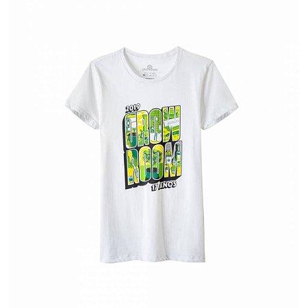 Camiseta Growroom - Edição 17 anos - Feminina Branca