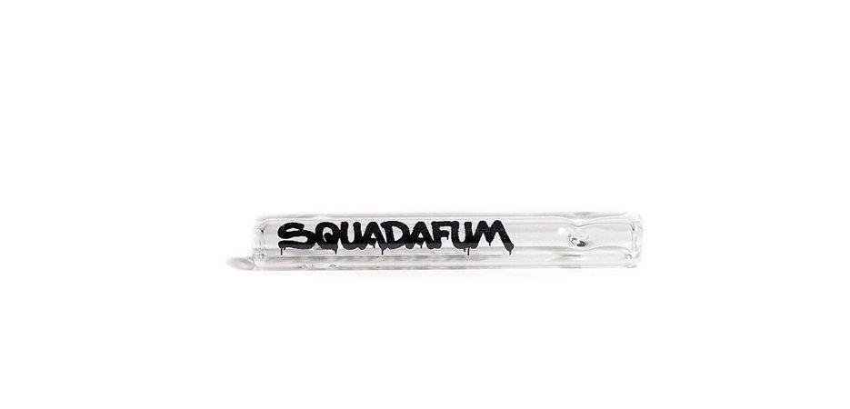 Piteira de Vidro Longa 7,5MM - Squadafum (2 Unidades)