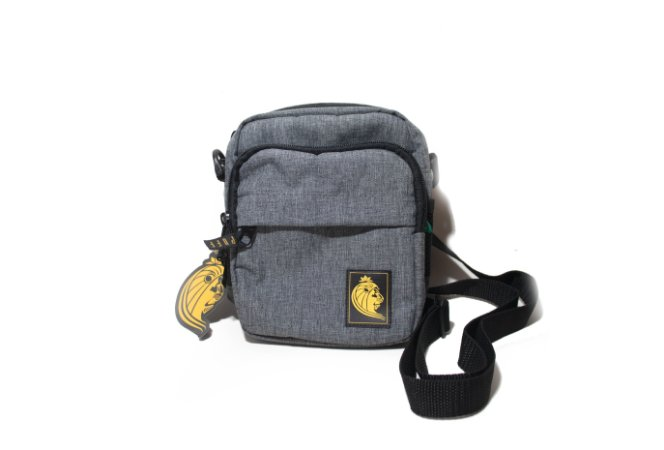 Shoulder Bag - Puff Life - Cinza