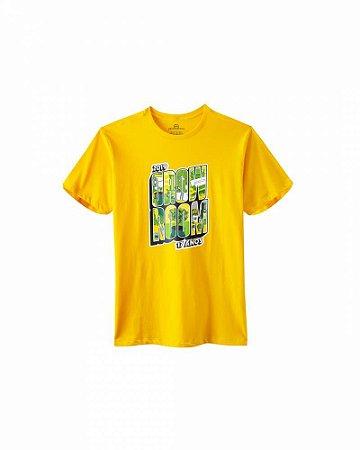 Camiseta Growroom - Edição especial 17 anos - Masculina Amarela