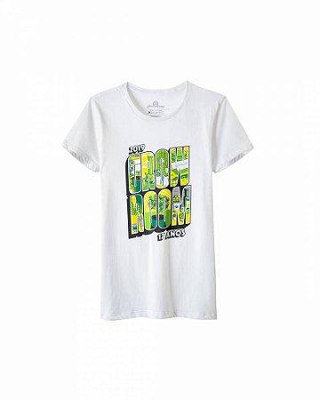 Camiseta Growroom - Edição especial 17 anos - Feminina Branca