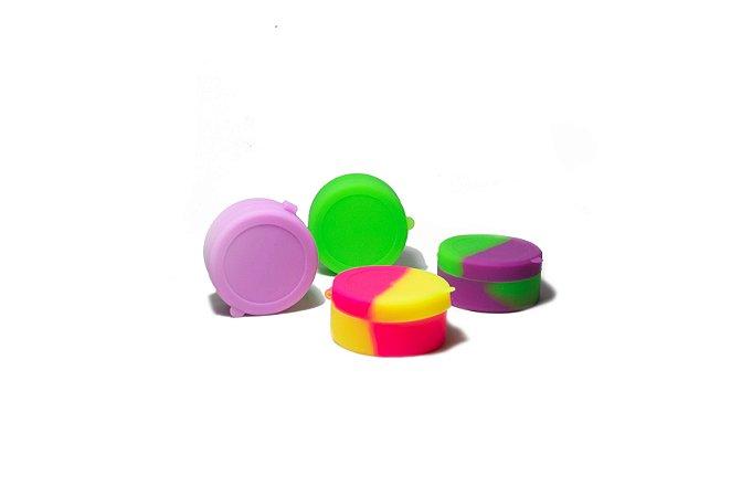 Pote de Silicone com divisória (Slick Oil) - 7ML (Pequeno)
